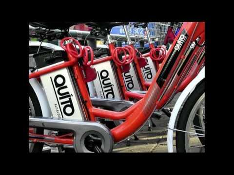 Século News - 12/07/2016 - Bicicletas elétricas incluídas no sistema de transporte público de Quito