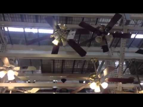 Ceiling Fans On Display At Home Depot In Salem Ma 2013