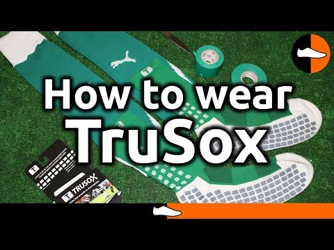 b7376458f How to wear TruSox like a professional player - YouTube