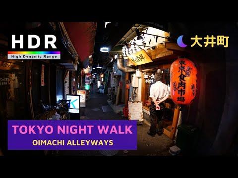 【4K HDR】Tokyo Night