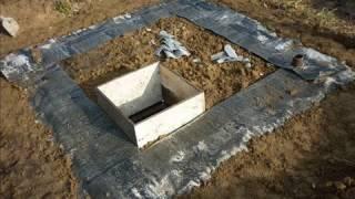 видео Как сделать погреб своими руками в сарае: проект погреба под сараем