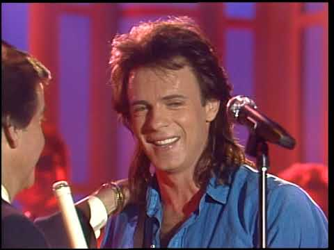 American Bandstand 1988- Interview Rick Springfield