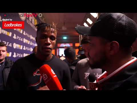 Wilfried Zaha Talks To Troopz | FIFA 18 Launch Party
