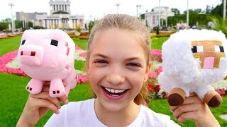 Видео для детей и их родителей. Лучшая подружка Света и ферма с животными на ВДНХ.