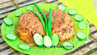 Гречаники с сыром и помидорами под соусом в духовке легко и просто