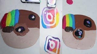 Instagram Slime!! YENİ vs ESKİ Instagram SLAYM Bidünya Oyuncak🦄