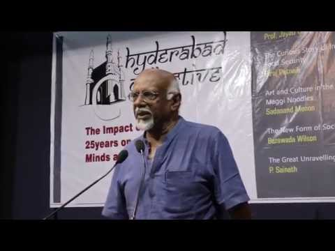 Art and Culture in the Time of Maggi Noodles | Sadanand Menon | Hyderabad Collective | Aug 14, 2016