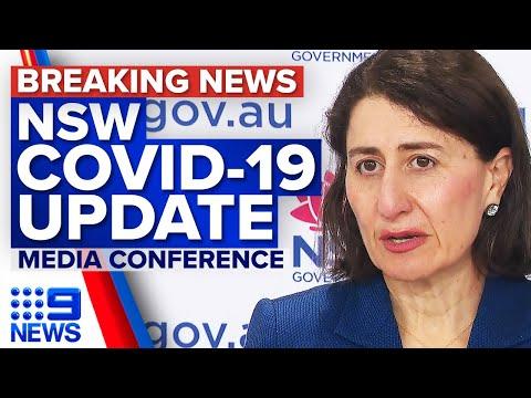 NSW records 1220 new local COVID-19 cases and eight deaths | Coronavirus | 9 News Australia