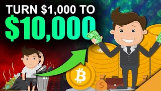 Best Way To Turn $1k into $10k with Crypto (10x Your Money)