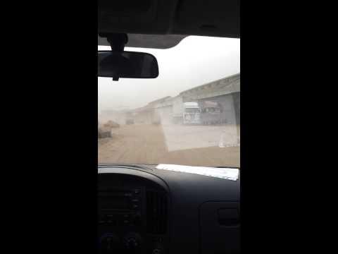 Driving tae work in luanda Angola