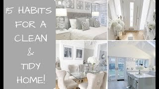 15 Habits for a clean & tidy home How to keep your home tidy Toni Interior