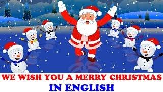 Je te souhaite un Joyeux Noël   chants de Noël à chanter   English Carols