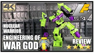 Wei Jiang Lubo NUCLEAR WARRIOR ENGINEERING OF WAR GOD KO Oversized DX9 Hulkie Review