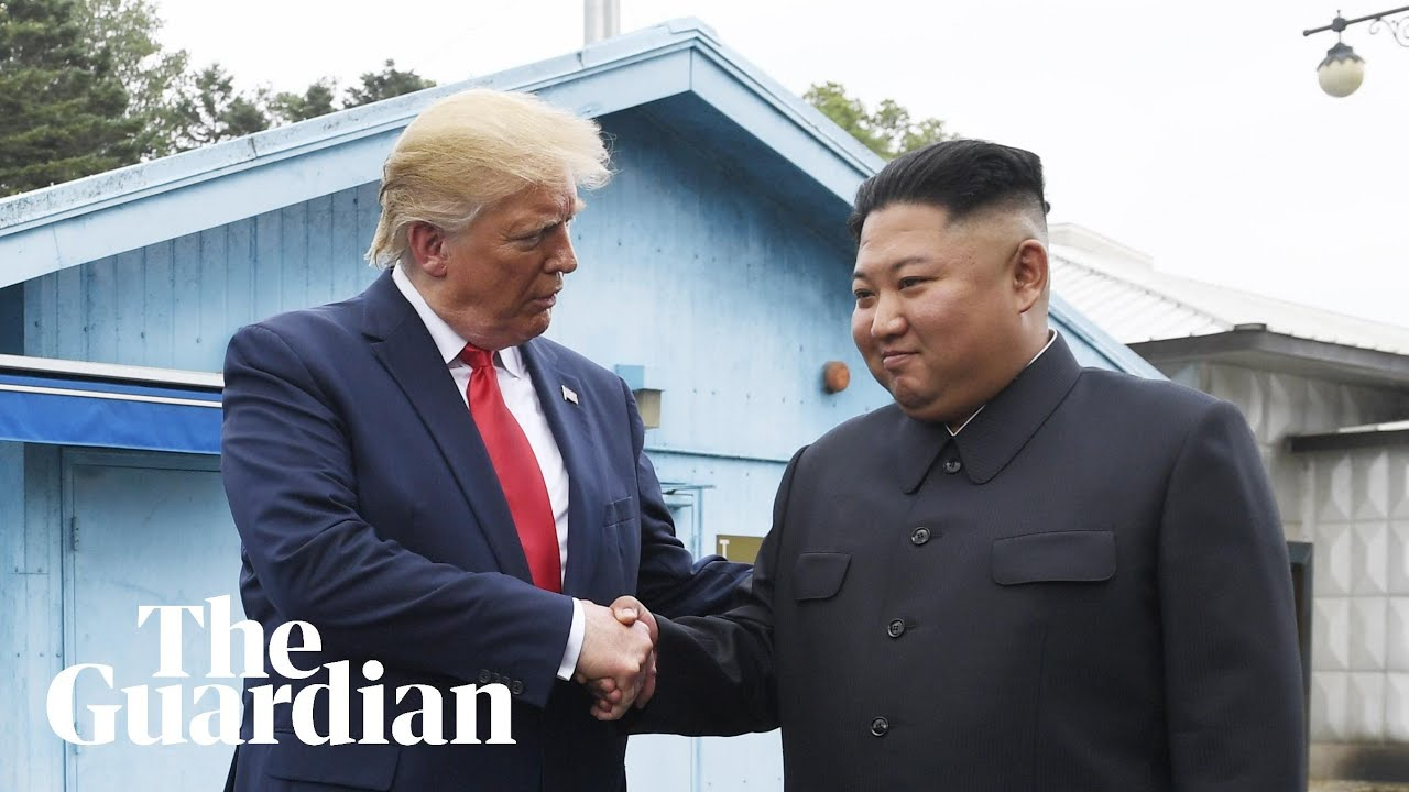 Trump invites Kim Jong-un to visit US after stepping into