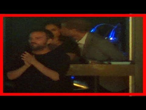 Breaking News | Pda alert: prince harry kisses meghan markle in public