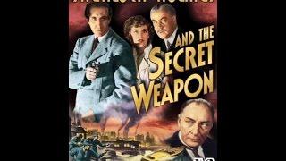 Sherlock Holmes & The Secret Weapon (Mystery Movie)