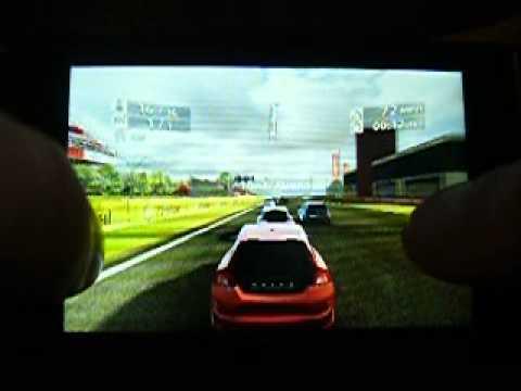 real racing 2 hd on LG optimus net P690
