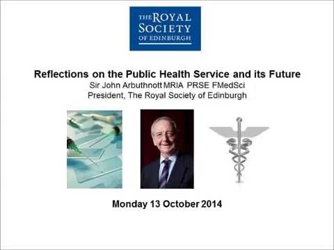 Reflections on the Public Health Service and its Future