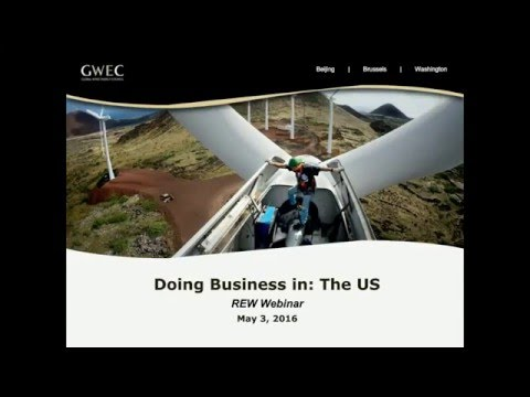 Webcast: Doing Business in… US (3 May 2016, 3pm CEST)