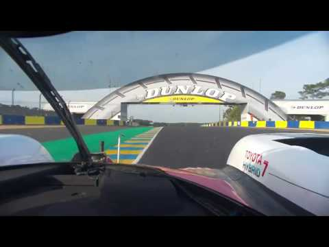 Le Mans lap record - Kobayashi 3:14.791 [2017]