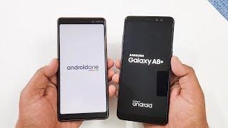 Nokia 7 Plus vs Samsung Galaxy A8+ Speed Test Comparison !