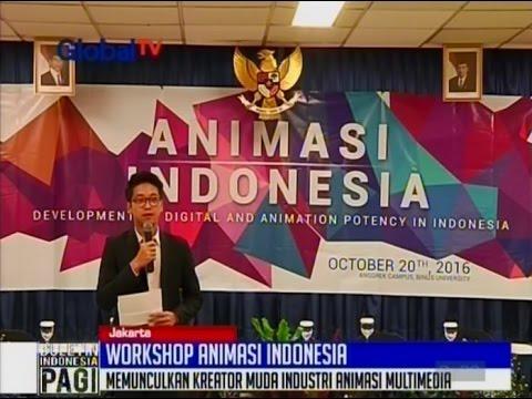 Workshop Animasi Indonesia 2016 - BIP 21/10