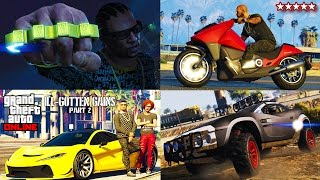 $$$22,000,000 SPENDING SPREE!!! - NEW GTA 5 DLC SHOWCASE! - ILL-GOTTEN GAINS DLC Part 2 (GTA 5)