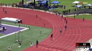 UNBELIEVABLE Anchor Leg In Championship 4x100m