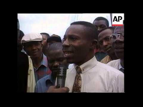 SOUTH AFRICA: NELSON MANDELA CALLS FOR PROPER BURIAL OF MOBUTU
