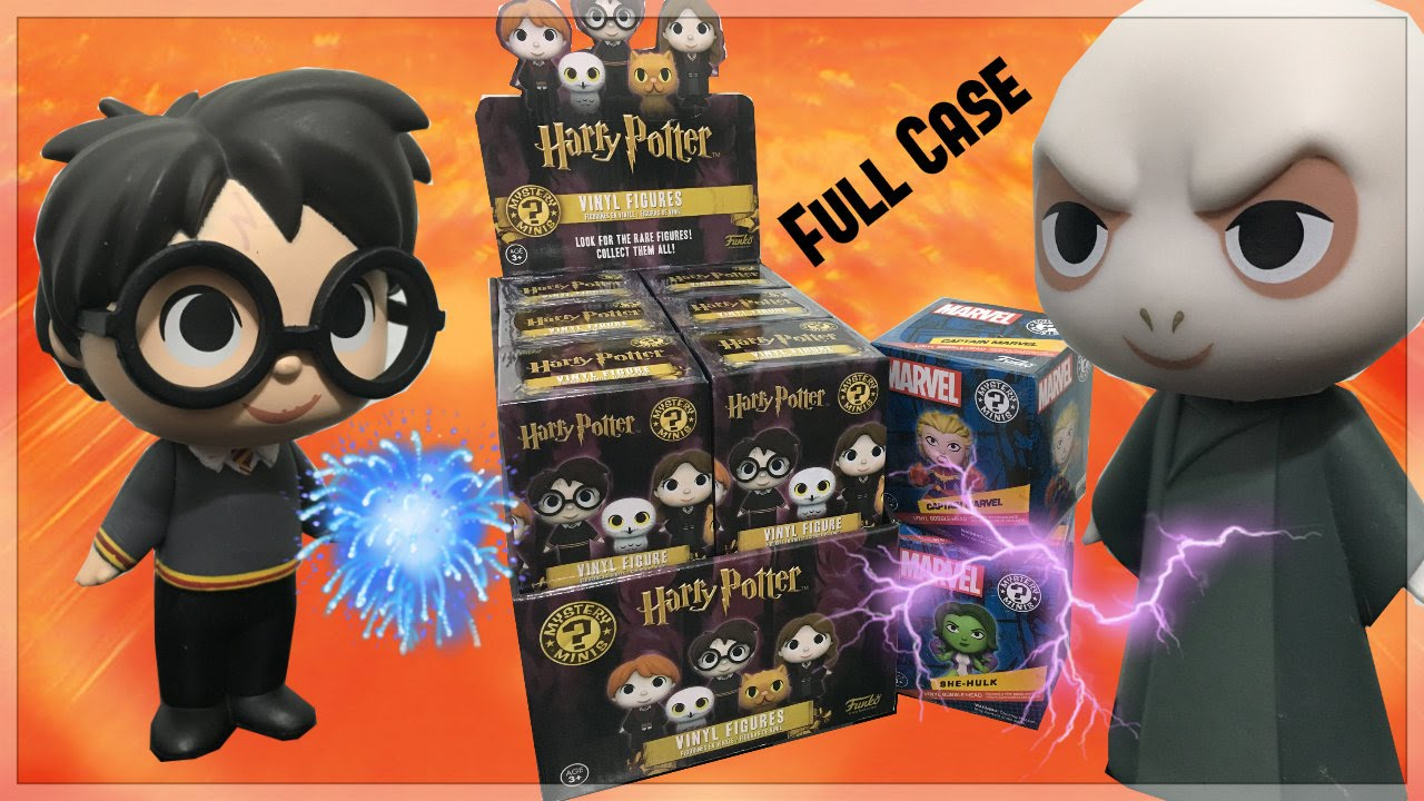 Funko Mystery Minis Harry Potter Scabbers Blind Box Figure NEW