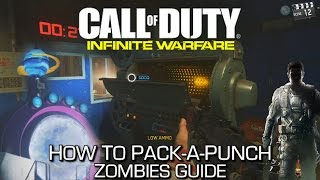 call of duty infinite warfare how to pack a punch in zombies portal locations guide get packed