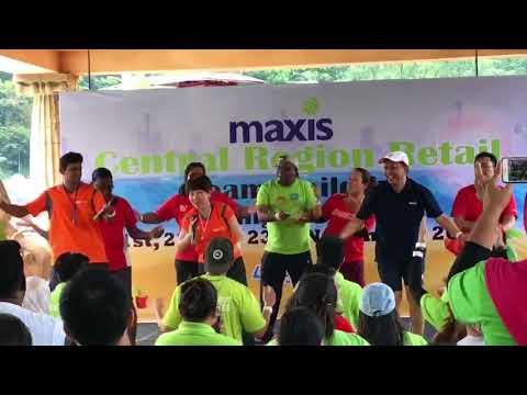 Maxis Central Region Retail Team Building - Ice Breaker Dance