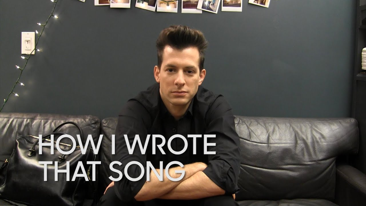 How I Wrote That Song: Mark Ronson