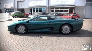 Jaguar Xj220 - Introduction and Guided Tour
