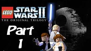 Let's Play! Lego Star Wars II: The Original Trilogy- Part 1: Secret Plans