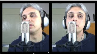 How to Sing Cover Vocal Norwegian Wood Beatles cover Vocal Harmony Lesson breakdown