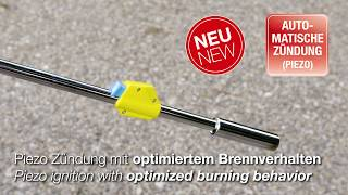 GLORIA Thermoflamm Bio Plus - Unkrautbeseitigung Ohne Chemie / Weed Removal Without Chemicals