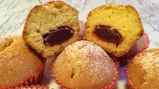 Кексы на Сметане с Повидлом (Очень Вкусно) / Jam Muffins Recipes / Простой Рецепт