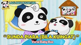 Download Video Bunda Piara (Bila Kuingat) ♫ Lagu anak Nusantara ❤ Kartun BabyBus ❤ Edukasi balita, paud, tk, sd MP3 3GP MP4