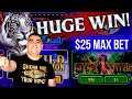 HUGE WIN On High Limit WILD THING Slot Machine | Live Slot Play At Casino