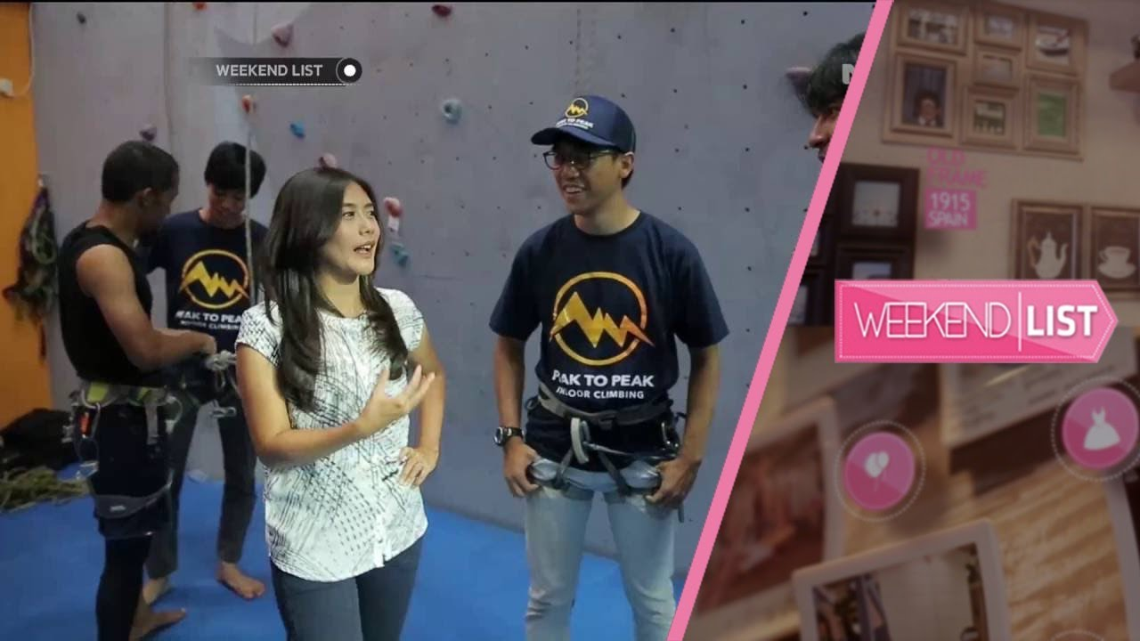 Weekend List Peak To Peak Panjat Tebing Indoor Di Jakarta Youtube