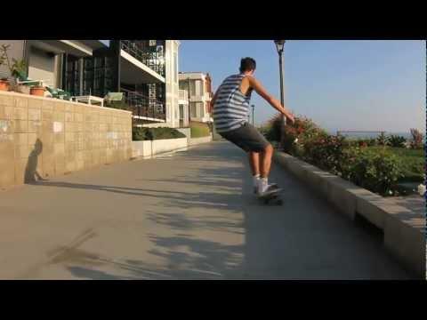 Manhattan Beach Skate Action Sequence