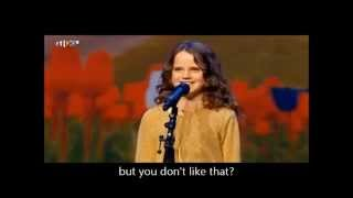 Download Video Suara Emas Anak Berusia 9 thn Amira Willighagen menyanyikan lagu O Mio Babbino Caro MP3 3GP MP4
