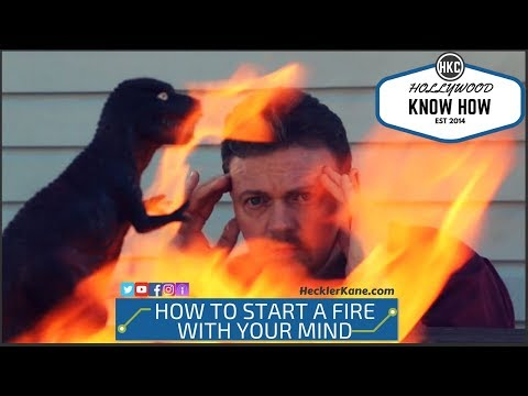 How to Start a Fire with Your Mind DIY Practical Effect