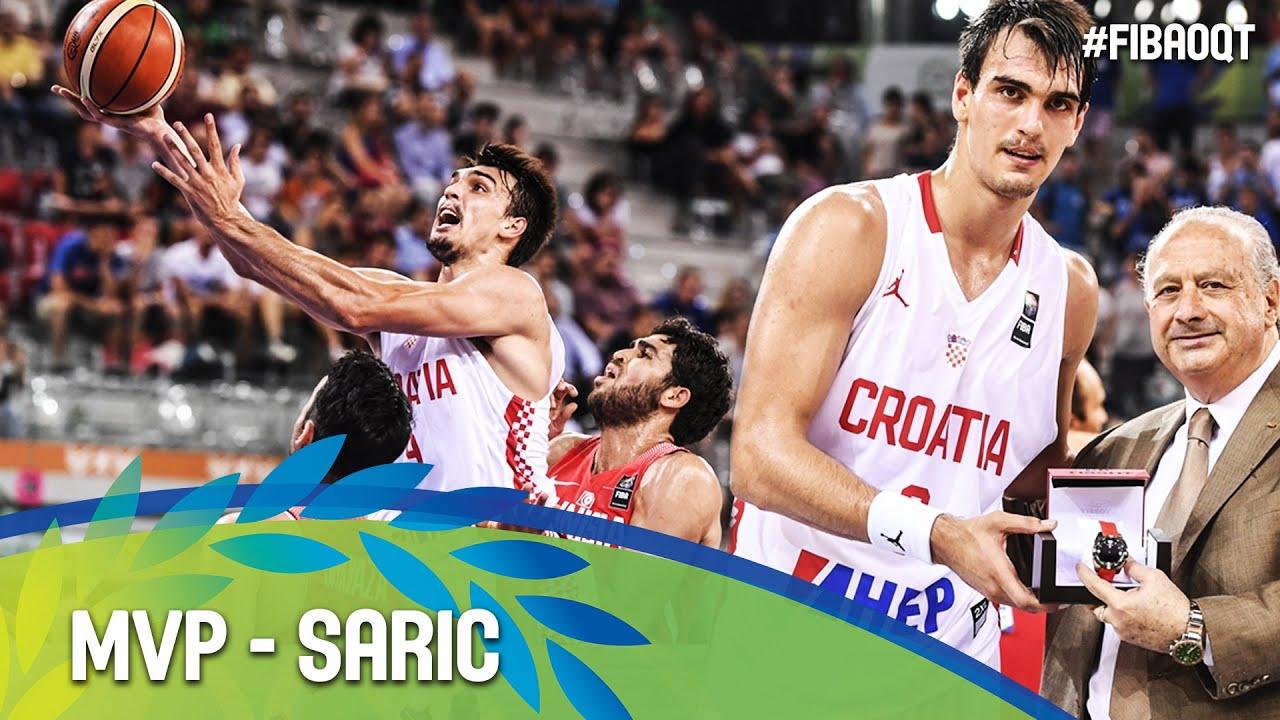 Dario Saric - MVP - 2016 FIBA Olympic Qualifying Tournament