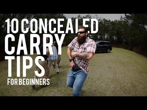 10 Concealed Carry Tips for Beginners.