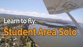 RECREATIONAL PILOT CERTIFICATE:  Flying Lesson #17 -  2nd Area Solo   Jabiru