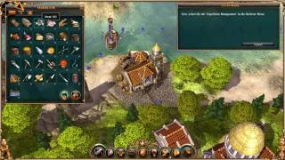 Settlers II 10th Anniversary - Tutorial 4 - Seafaring, seafaring and expeditions