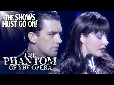 'The Phantom Of The Opera' Sarah Brightman & Antonio Banderas