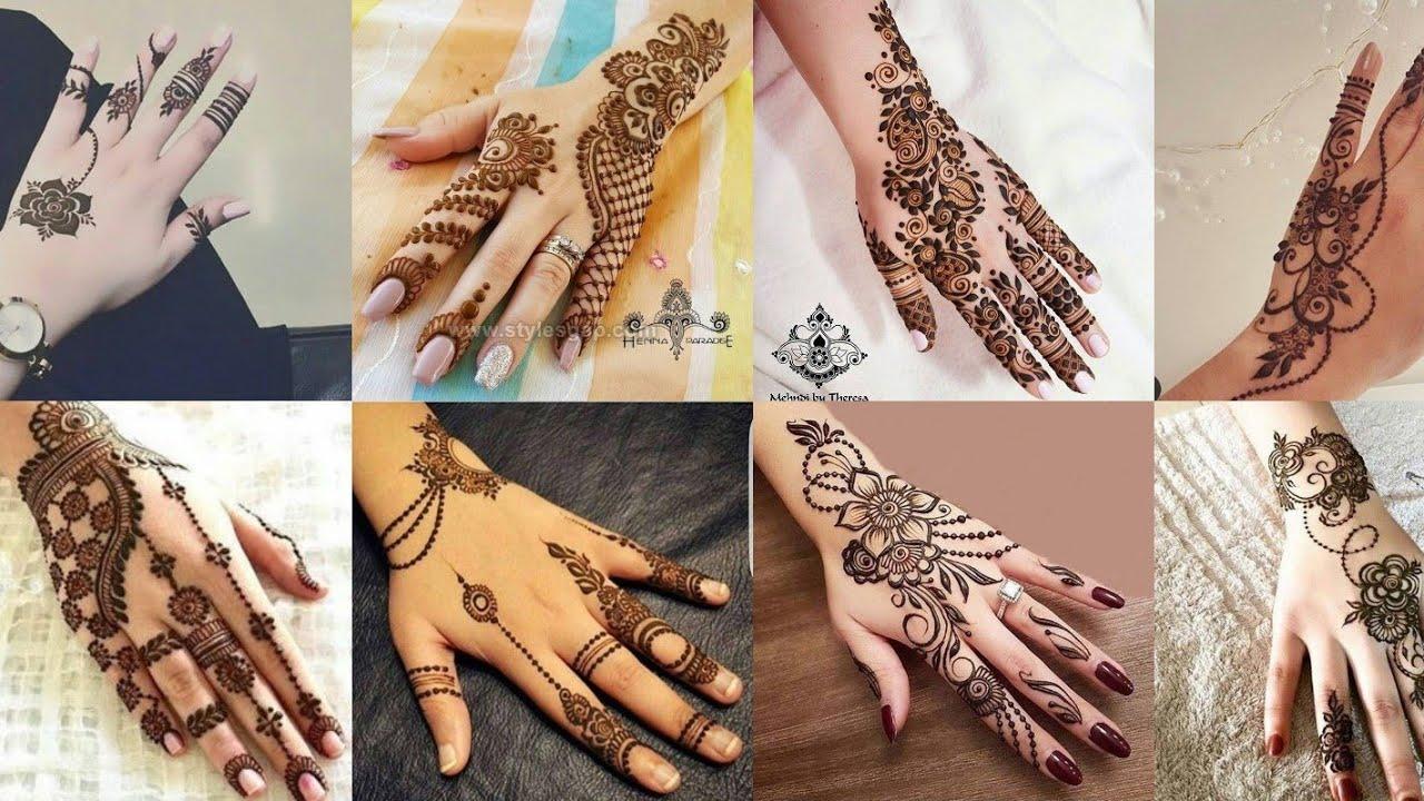 simple mehndi arabic mehndi design images photos 2019